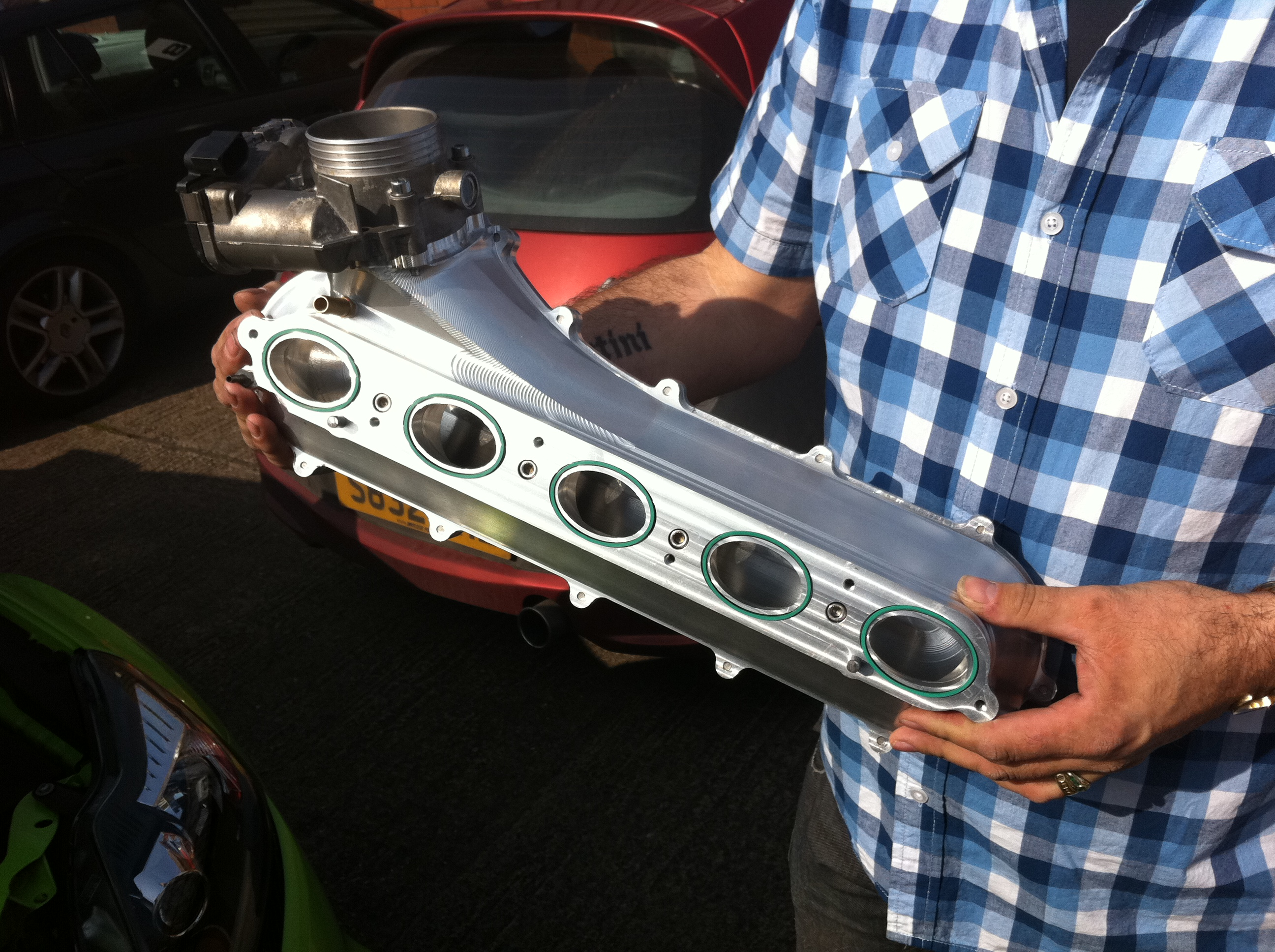 New Mk2 Focus Rs Complete Billet Inlet Manifold